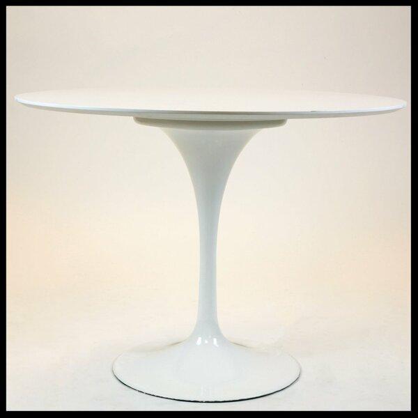 Mitchem MDF Circular Dining Table by Latitude Run