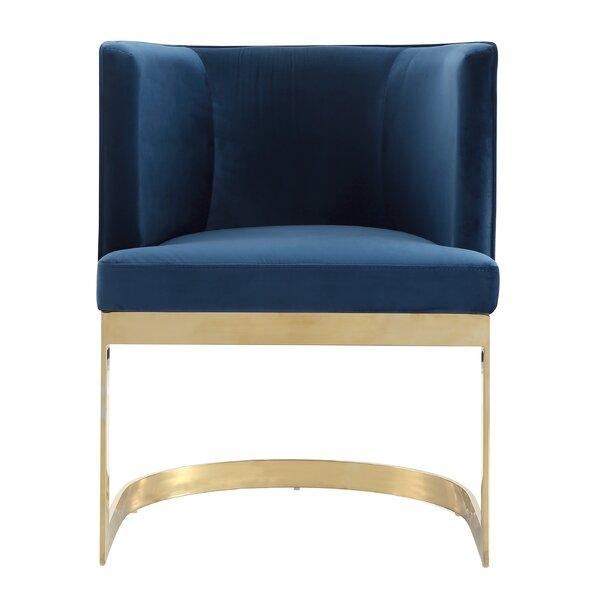 Larry Upholstered Dining Chair by Mercer41 Mercer41