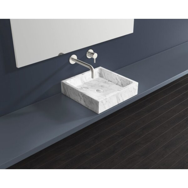 Stone Square Vessel Bathroom Sink