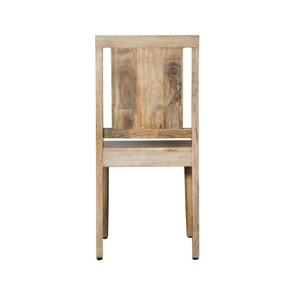 Luz Solid Wood Dining Chair by Millwood Pines