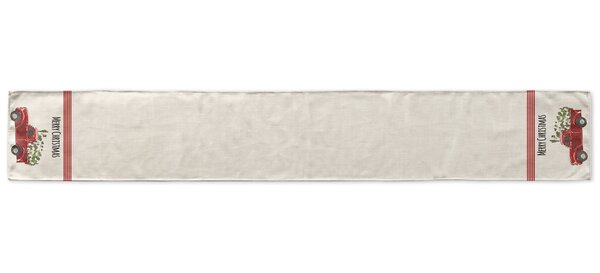 Truck Table Runner by KAVKA DESIGNS