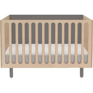 Fawn 2-in-1 Convertible Crib with Mattress by Oeuf