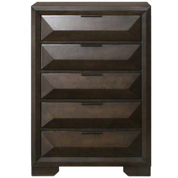 Kaylani Wooden 5 Drawer Chest by Ivy Bronx