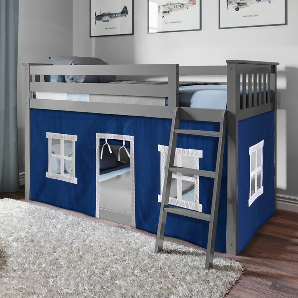 Rella Twin Over Twin Bunk Bed by Harriet Bee