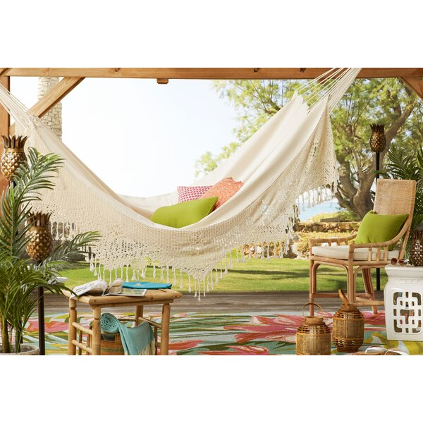 Berenice Two Person Deluxe Cotton Tree Hammock by Freeport Park