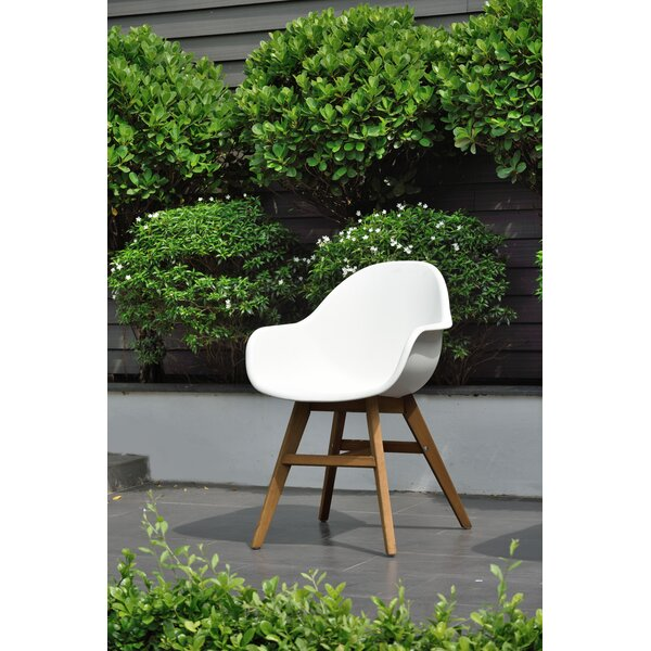 Beams Patio Dining Chair (Set of 2) by Ivy Bronx