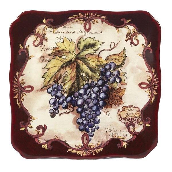 Burling Square Platter by Fleur De Lis Living