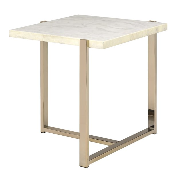 LaGuardi End Table By Orren Ellis