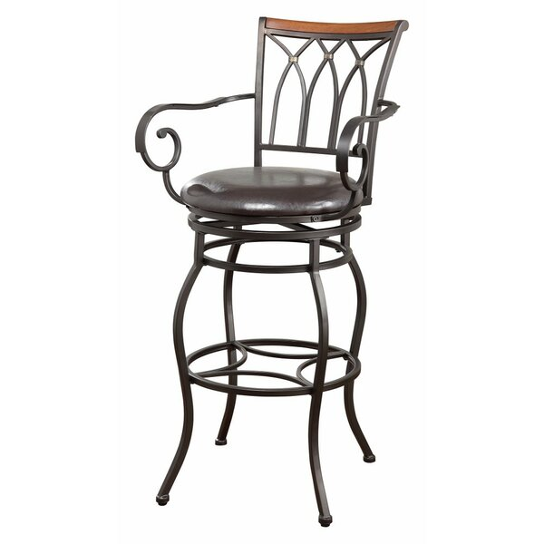 Collier 29 Bar Stool by Fleur De Lis Living