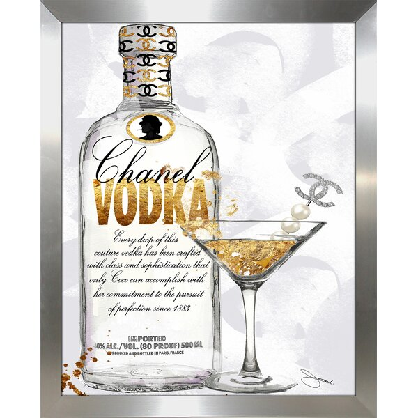 Couture Cocktail Graphic Art Print By Picture Perfect International.