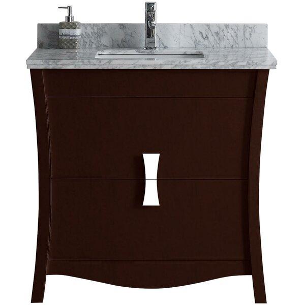 Bow 35 Single Bathroom Vanity Set by American Imaginations