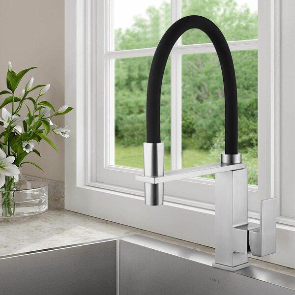 Single Handle Kitchen Faucet by Decoraport Decoraport