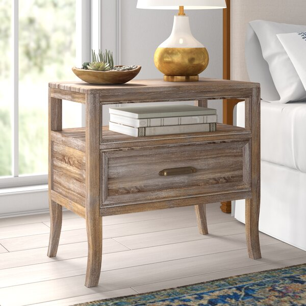 Carin 1 Drawer Nightstand By Mistana by Mistana New