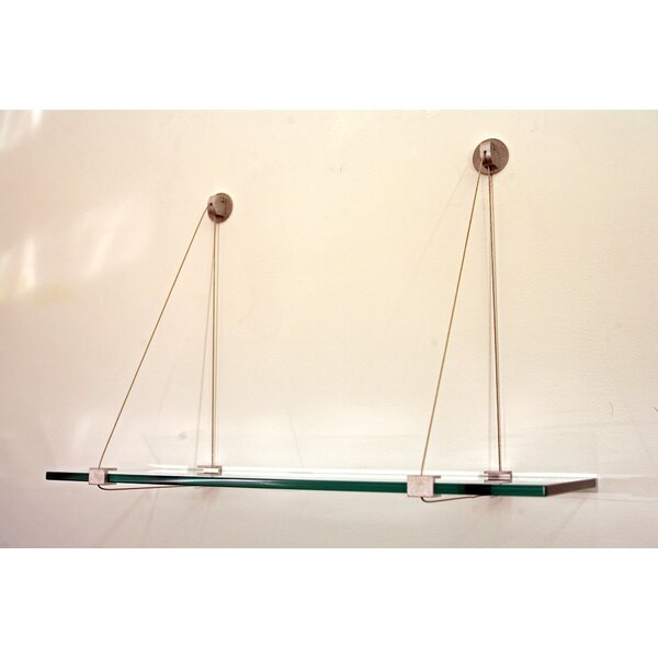 Spancraft Floating Glass Shelf by Spancraft Glass