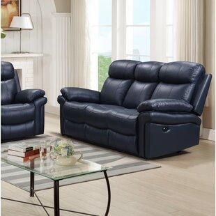 Navy Blue Reclining Sofa Wayfair