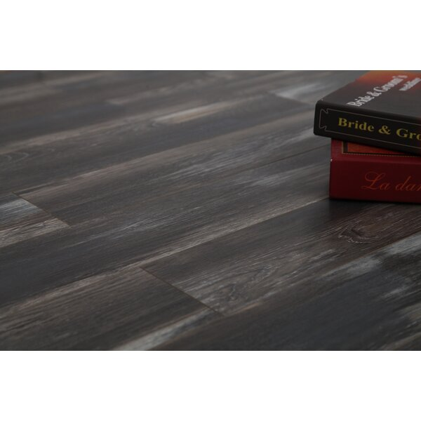 Coast 47.85 x 4.96 x 12mm Laminate Flooring in Show Shade Oak by Dekorman