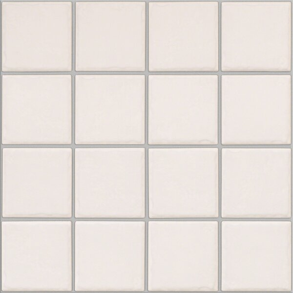 Fenton 3 x 3 Ceramic Mosaic Tile in Nursery by Shaw Floors