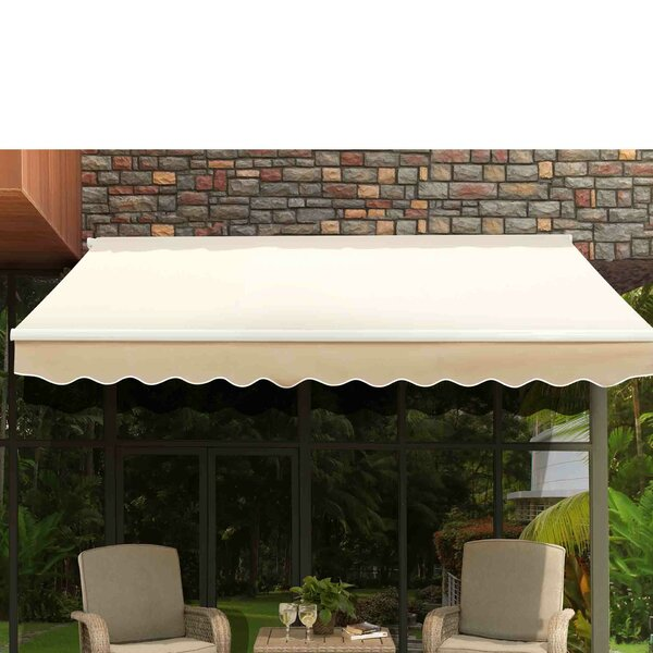Classic 10 ft. W x 9 ft. D Patio Awning by Sunjoy