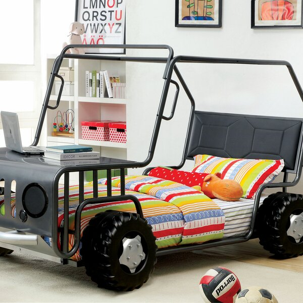 Bushey Twin Car Bed by Zoomie Kids