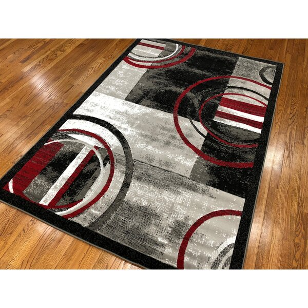 Jones Gray Area Rug by Orren Ellis