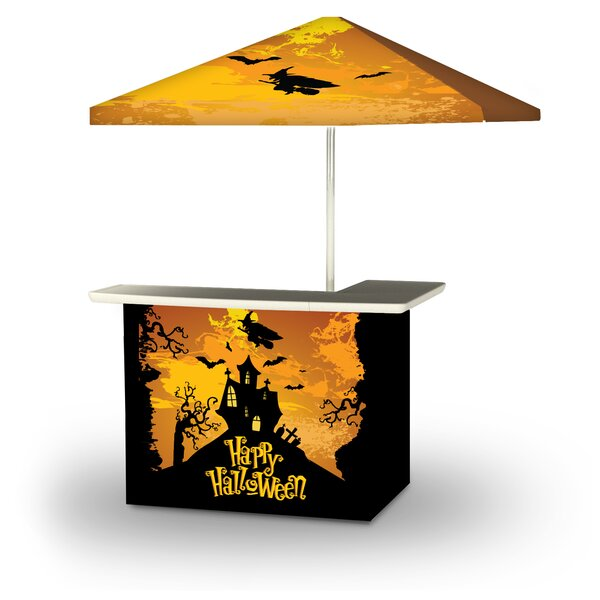 Yoherlin Halloween Witch 2-Piece Home Bar Set by East Urban Home