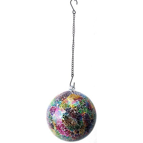 Hanging Neon Glass Gazing Globe by VCS