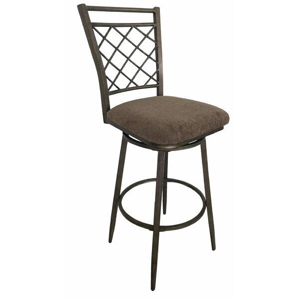 Kyrie 30 Swivel Bar Stool (Set of 2) by Darby Home Co