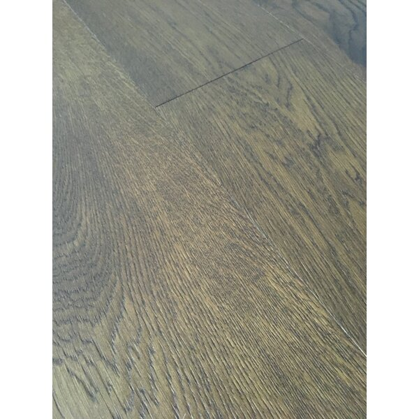 Rome 7.5 Engineered Oak Hardwood Flooring in Trout Gray by Dekorman