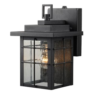 Comparison 1-Light Outdoor Wall Lantern By Hardware House
