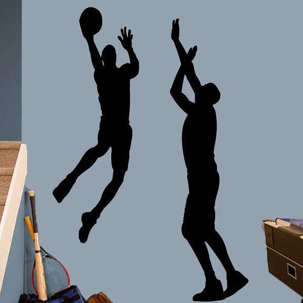 Harward 2 Piece Basketball Guys Wall Decal Set by Zoomie Kids