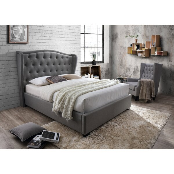 Dewalt Upholstered Platform Bed by Darby Home Co