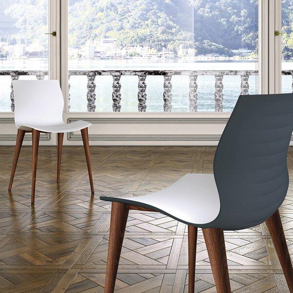Akanksha Solid Wood Dining Chair (Set of 2) by Orren Ellis