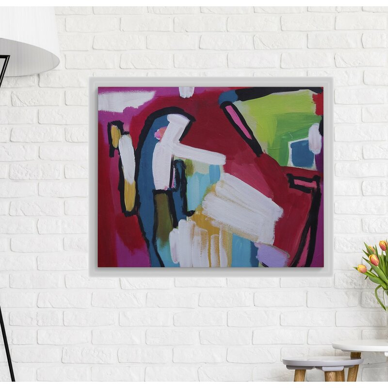 In It To Win It Framed Graphic Art Print On Wrapped Canvas By Susan Skelly Floater Frame Graphic Art Print On Canvas Allmodern