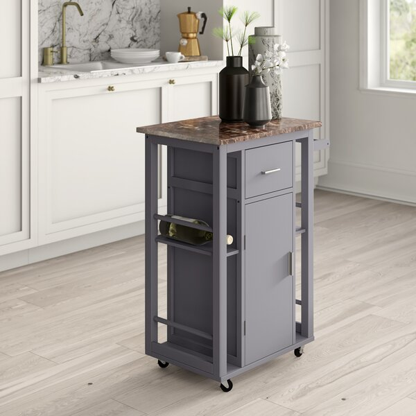 Mcewen Kitchen Cart by Mercury Row