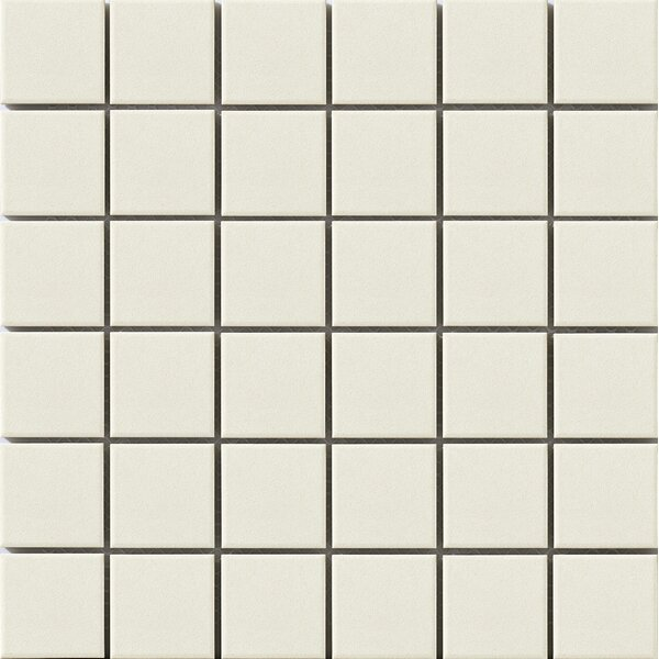 Urban 2 x 2 Porcelain Mosaic Tile in  Off-White by Walkon Tile
