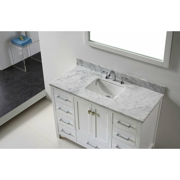 Pichardo Contemporary 48 Single Bathroom Vanity Set by Brayden Studio