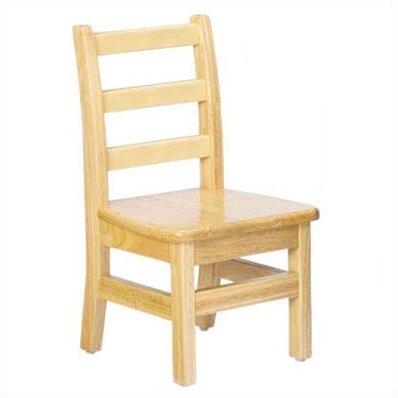 Jonti-Craft KYDZ Ladderback Chair Solid Wood Classroom Chair (Set of 2) by Jonti-Craft