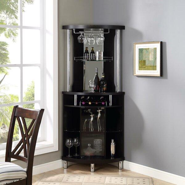 Wine Bar with Wine Storage by Red Barrel Studio Red Barrel Studio
