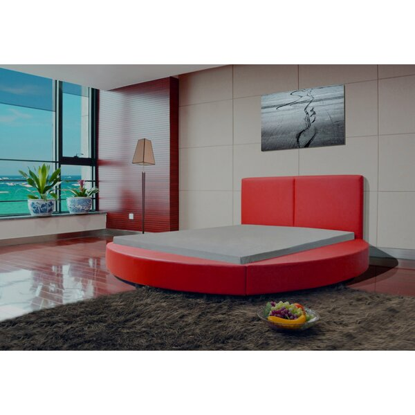 Lura Upholstered Platform Bed by Orren Ellis