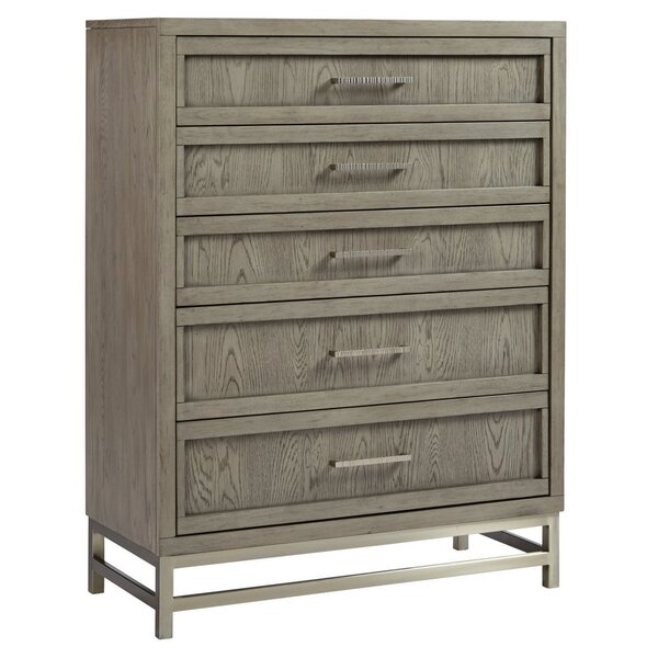 Osgood 5 Drawers Chest by Wrought Studio