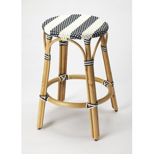 Campbellton 24 Bar Stool by Beachcrest Home