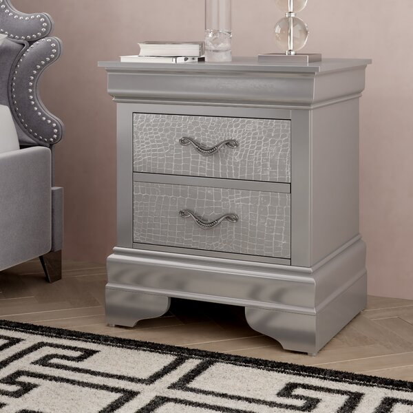 Paignton 2 Drawer Nightstand by Mercer41
