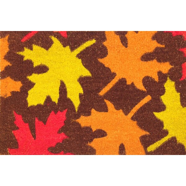 Autumn Leaves Coir (Coco) Doormat by Envelor Home