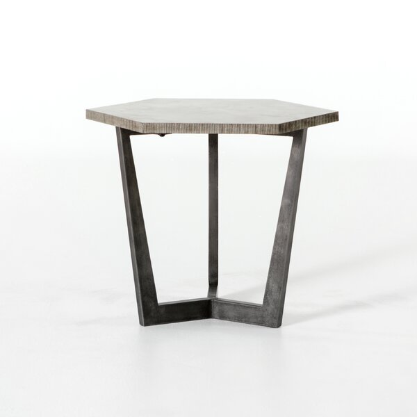 Capucine End Table By 17 Stories