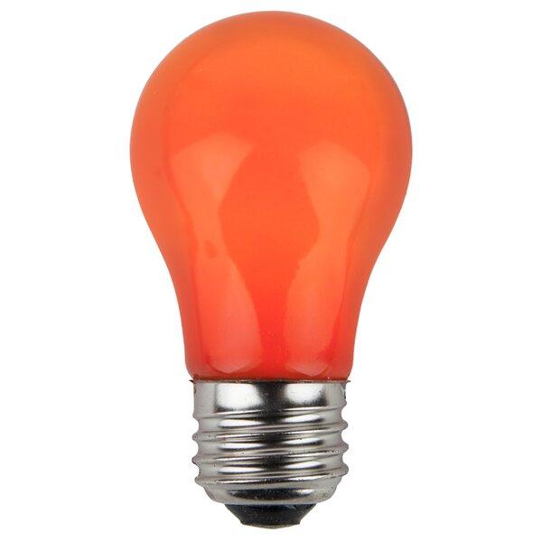 15W Orange 130-Volt Light Bulb (Pack of 25) by Wintergreen Lighting