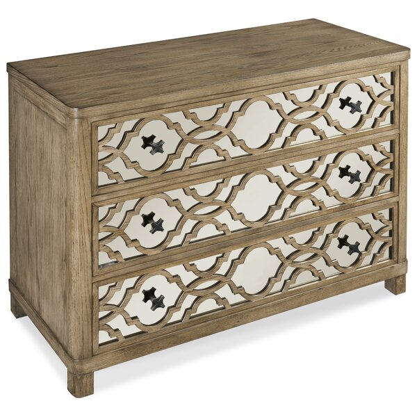 Monogram 3 Drawer Chest by Fairfield Chair
