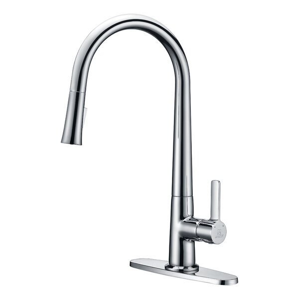Orbital Series Pull Down Bar Faucet By Anzzi.