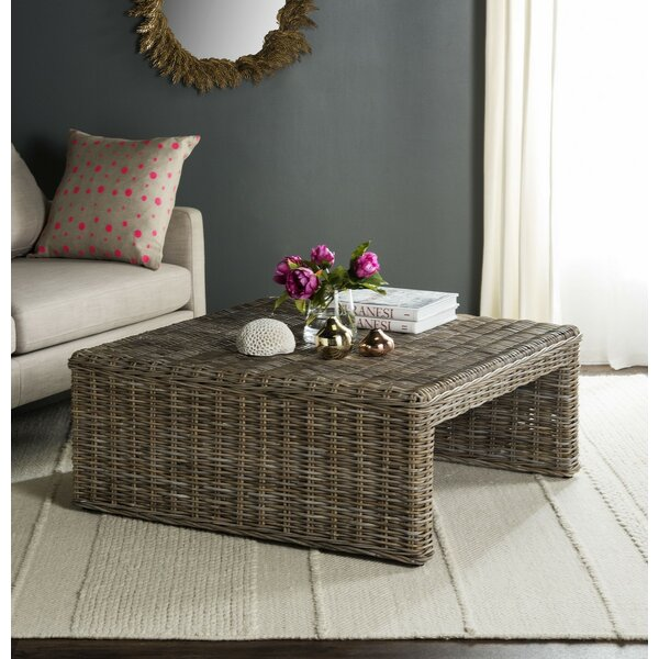 Sephina Sled Coffee Table By Rosecliff Heights