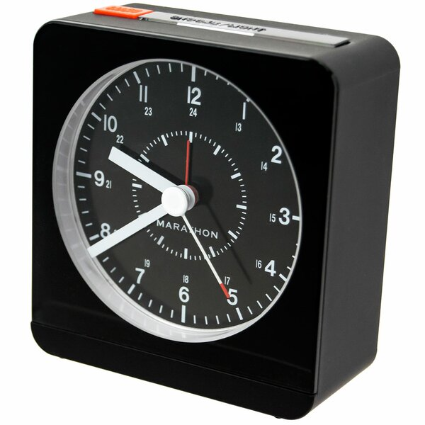Desk Alarm Clock by Marathon Watch Company