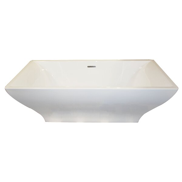 Vision 70.4 x 31.6 Freestanding Soaking Bathtub by ANZZI